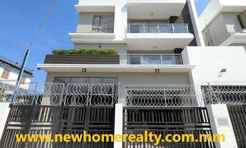 New Landed House for sale in 39 Ward, North Dagon Township, Yangon