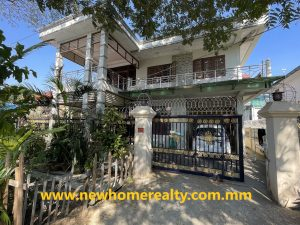 Resell: Landed house in North Dagon 43 Ward, Yangon, Myanmar