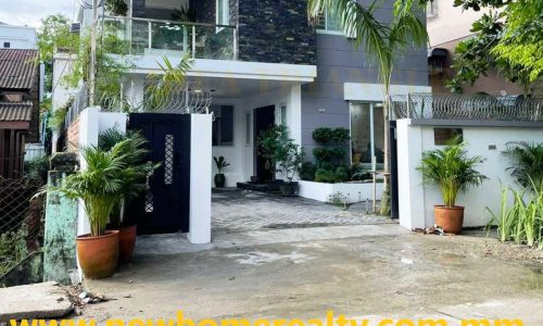 Fully Furnished Landed House for sale 32 Ward, North Dagon, New Home Realty